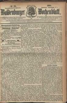 Waldenburger Wochenblatt, Jg. 30, 1884, nr 76
