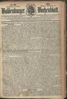 Waldenburger Wochenblatt, Jg. 30, 1884, nr 82