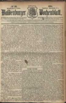 Waldenburger Wochenblatt, Jg. 30, 1884, nr 83
