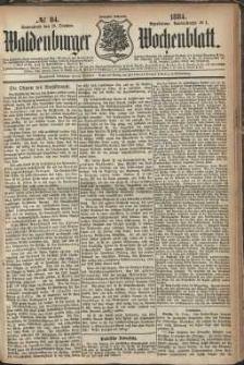 Waldenburger Wochenblatt, Jg. 30, 1884, nr 84