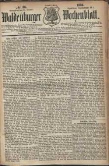 Waldenburger Wochenblatt, Jg. 30, 1884, nr 86