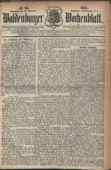 Waldenburger Wochenblatt, Jg. 30, 1884, nr 94