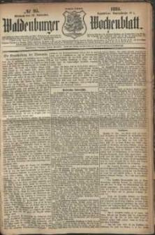 Waldenburger Wochenblatt, Jg. 30, 1884, nr 95