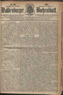 Waldenburger Wochenblatt, Jg. 30, 1884, nr 98