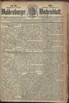 Waldenburger Wochenblatt, Jg. 30, 1884, nr 99