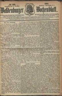 Waldenburger Wochenblatt, Jg. 30, 1884, nr 100