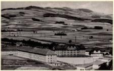 Hirschberg i. Riesengeb. Hubertus u. Neumann-Kasernen mit Segelflugschule Grunau [Dokument ikonograficzny]