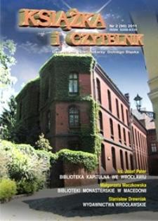 Książka i Czytelnik : czasopismo bibliotekarzy Dolnego Śląska, 2011, nr 2
