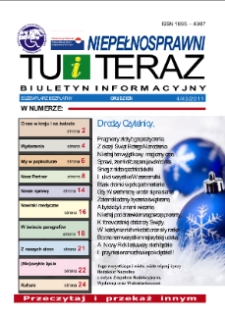 Niepełnosprawni Tu i Teraz : biuletyn informacyjny, 2011, nr 4 (43)