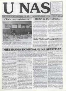 U Nas : miesięcznik jaworzyński, 1995, nr 21