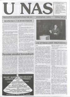 U Nas : miesięcznik jaworzyński, 1995, nr 24