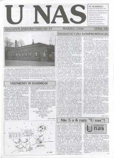 U Nas : miesięcznik jaworzyński, 1996, nr 27