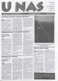 U Nas : miesięcznik jaworzyński, 1996, nr 32