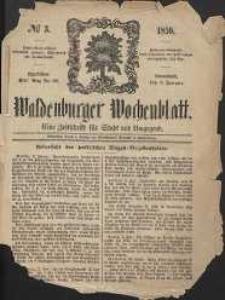 Waldenburger Wochenblatt, Jg. 5, 1859, nr 3