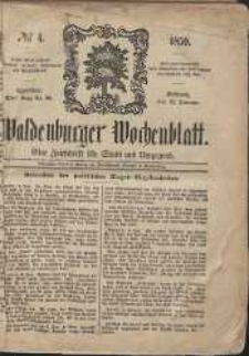 Waldenburger Wochenblatt, Jg. 5, 1859, nr 4