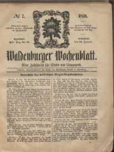 Waldenburger Wochenblatt, Jg. 5, 1859, nr 7