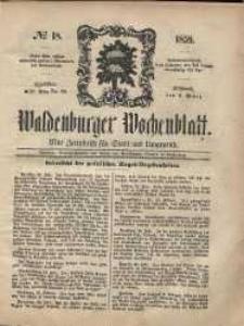 Waldenburger Wochenblatt, Jg. 5, 1859, nr 18