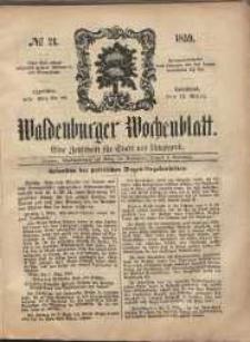 Waldenburger Wochenblatt, Jg. 5, 1859, nr 21