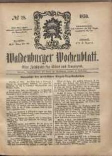 Waldenburger Wochenblatt, Jg. 5, 1859, nr 28