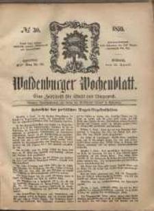 Waldenburger Wochenblatt, Jg. 5, 1859, nr 30