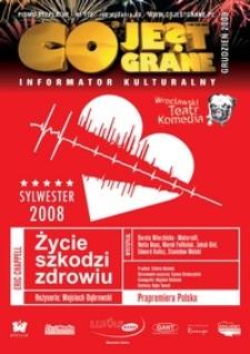 Co Jest Grane : informator kulturalny, 2008, nr 178