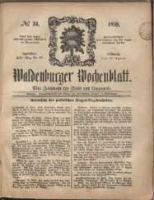 Waldenburger Wochenblatt, Jg. 5, 1859, nr 34
