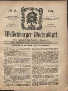 Waldenburger Wochenblatt, Jg. 5, 1859, nr 35
