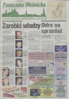 Panorama Oleśnicka: tygodnik Ziemi Oleśnickiej, 1999, nr 13 (405)