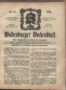 Waldenburger Wochenblatt, Jg. 5, 1859, nr 51
