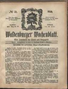 Waldenburger Wochenblatt, Jg. 5, 1859, nr 52