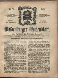 Waldenburger Wochenblatt, Jg. 5, 1859, nr 53