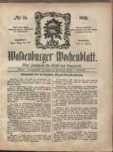Waldenburger Wochenblatt, Jg. 5, 1859, nr 55