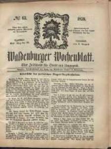 Waldenburger Wochenblatt, Jg. 5, 1859, nr 63