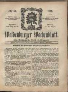 Waldenburger Wochenblatt, Jg. 5, 1859, nr 66