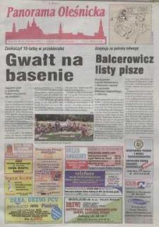 Panorama Oleśnicka: tygodnik Ziemi Oleśnickiej, 1999, nr 32 (424)