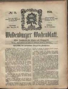 Waldenburger Wochenblatt, Jg. 5, 1859, nr 74