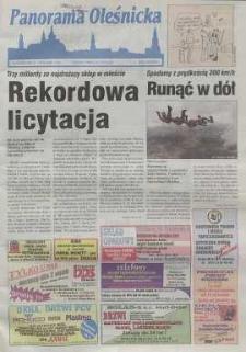 Panorama Oleśnicka: tygodnik Ziemi Oleśnickiej, 1999, nr 33 (425)
