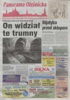 Panorama Oleśnicka: tygodnik Ziemi Oleśnickiej, 1999, nr 36 (428)