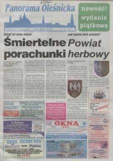 Panorama Oleśnicka: tygodnik Ziemi Oleśnickiej, 1999, nr 38 (430)