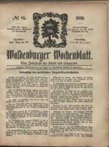 Waldenburger Wochenblatt, Jg. 5, 1859, nr 85