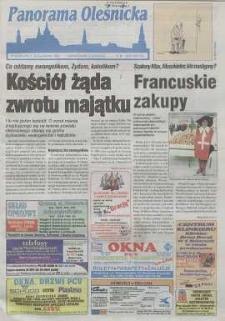 Panorama Oleśnicka: tygodnik Ziemi Oleśnickiej, 1999, nr 48 (440)