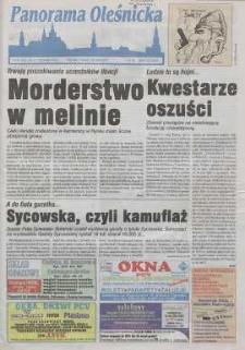 Panorama Oleśnicka: tygodnik Ziemi Oleśnickiej, 1999, nr 60 (452)