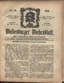 Waldenburger Wochenblatt, Jg. 5, 1859, nr 89