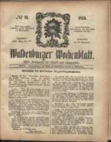 Waldenburger Wochenblatt, Jg. 5, 1859, nr 91