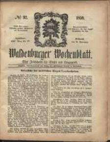 Waldenburger Wochenblatt, Jg. 5, 1859, nr 92