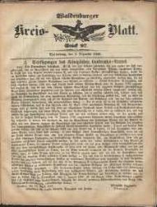 Waldenburger Wochenblatt, Jg. 5, 1859, nr 97