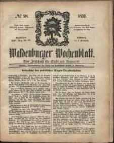 Waldenburger Wochenblatt, Jg. 5, 1859, nr 98