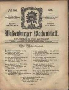 Waldenburger Wochenblatt, Jg. 5, 1859, nr 103