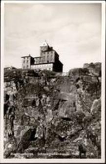 Karkonosze - schronisko Nad Śnieżnymi Kotłami latem [Dokument ikonograficzny]
