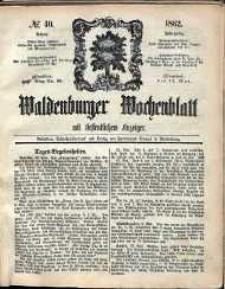 Waldenburger Wochenblatt, Jg. 8, 1862, nr 40